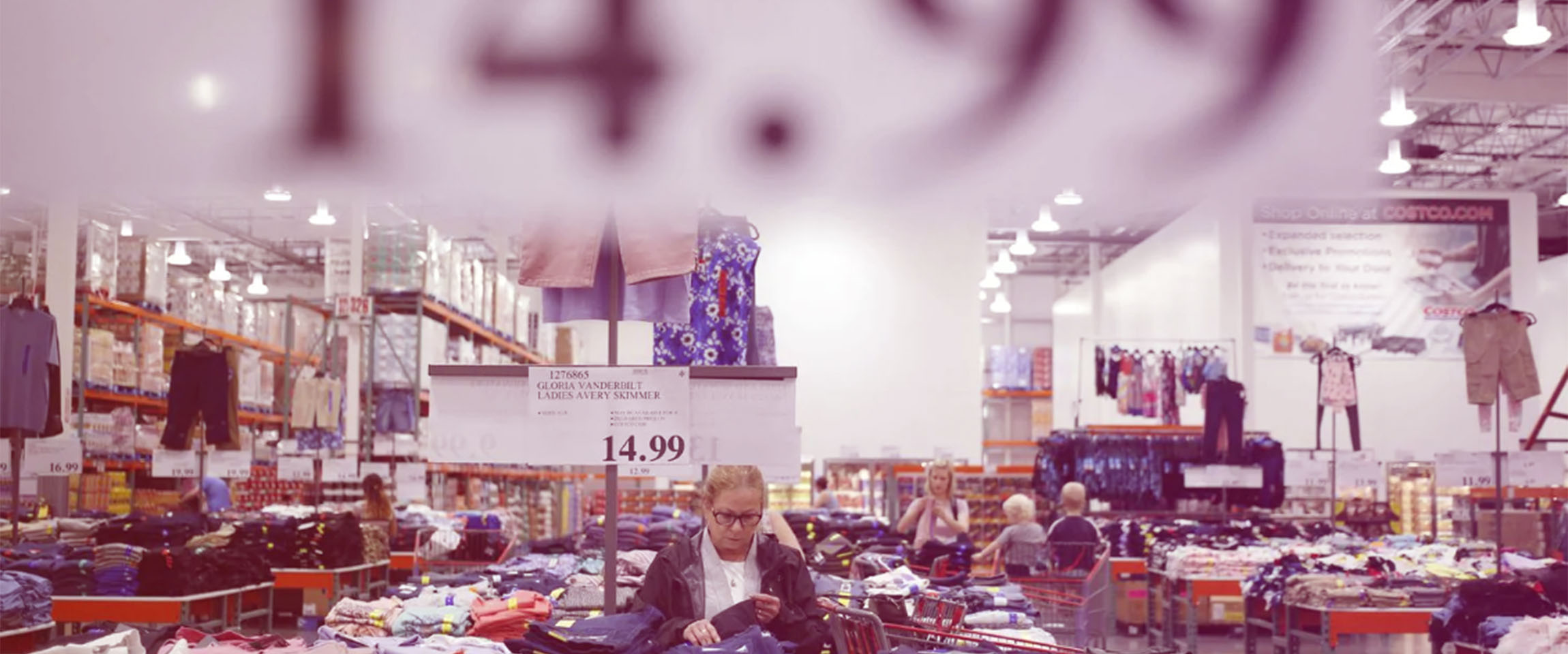 Costco Quietly Becomes a Destination for Clothes