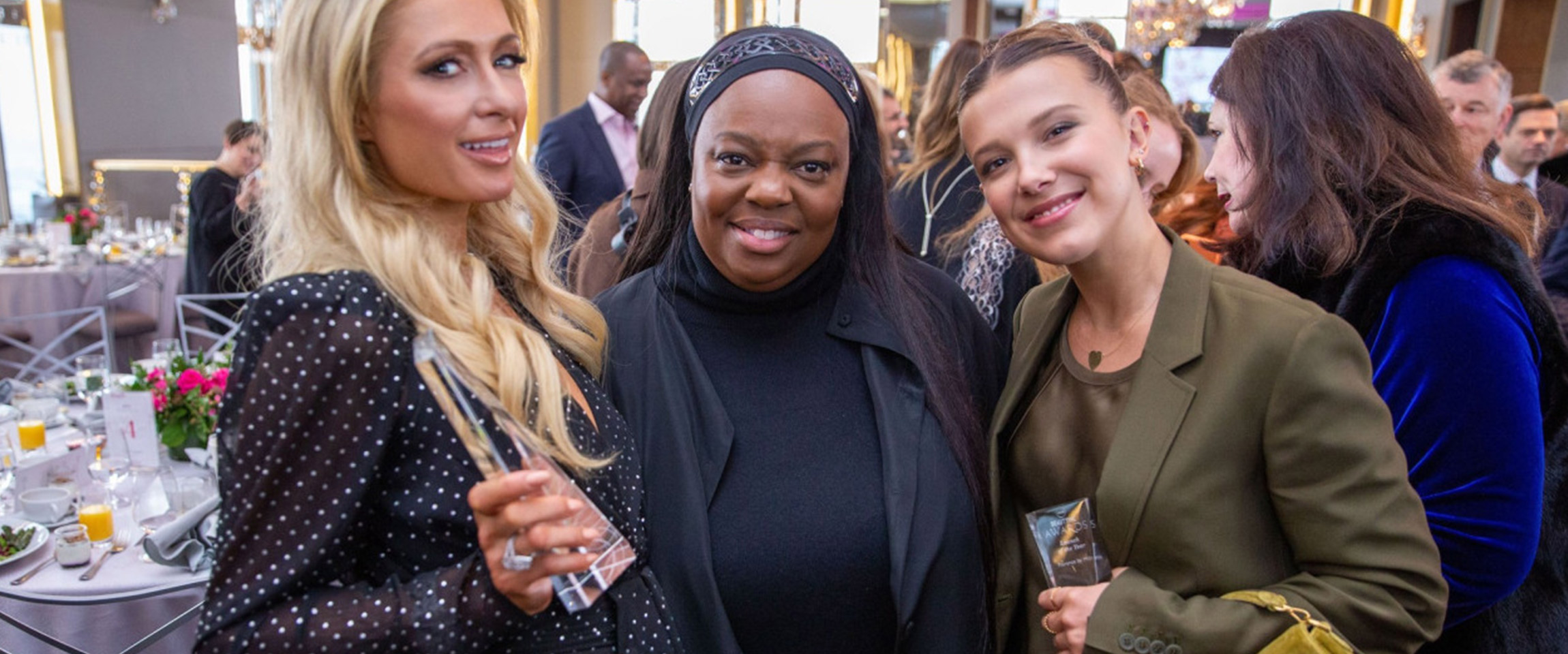 Millie Bobby Brown Meets 'Idol' at the WWD Beauty Inc Awards